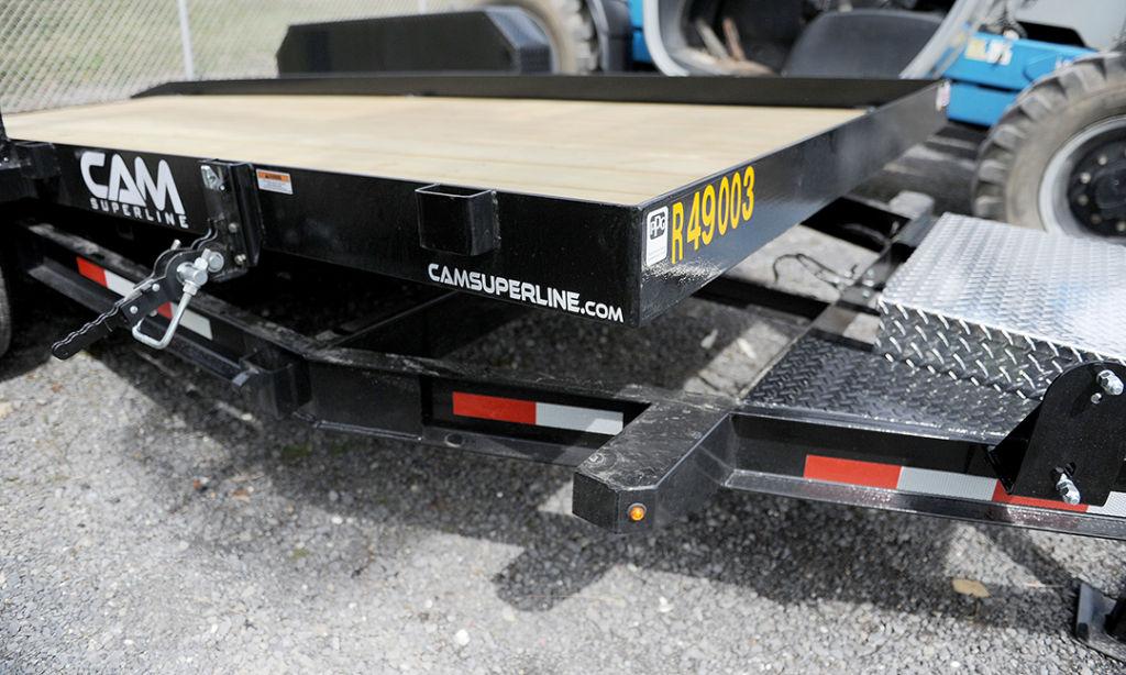 CAM Tilt-bed trailer rental