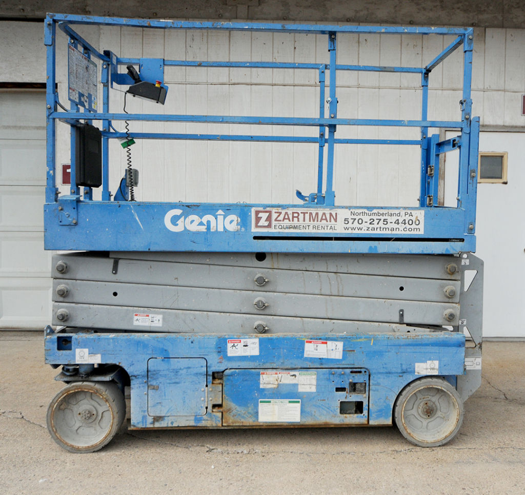 Genie GS-2632 slab scissor lift rental