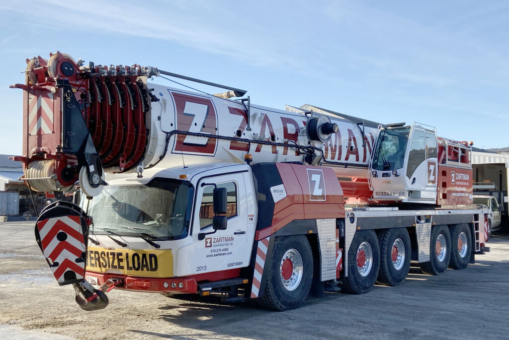 300 ton GMK 5250L