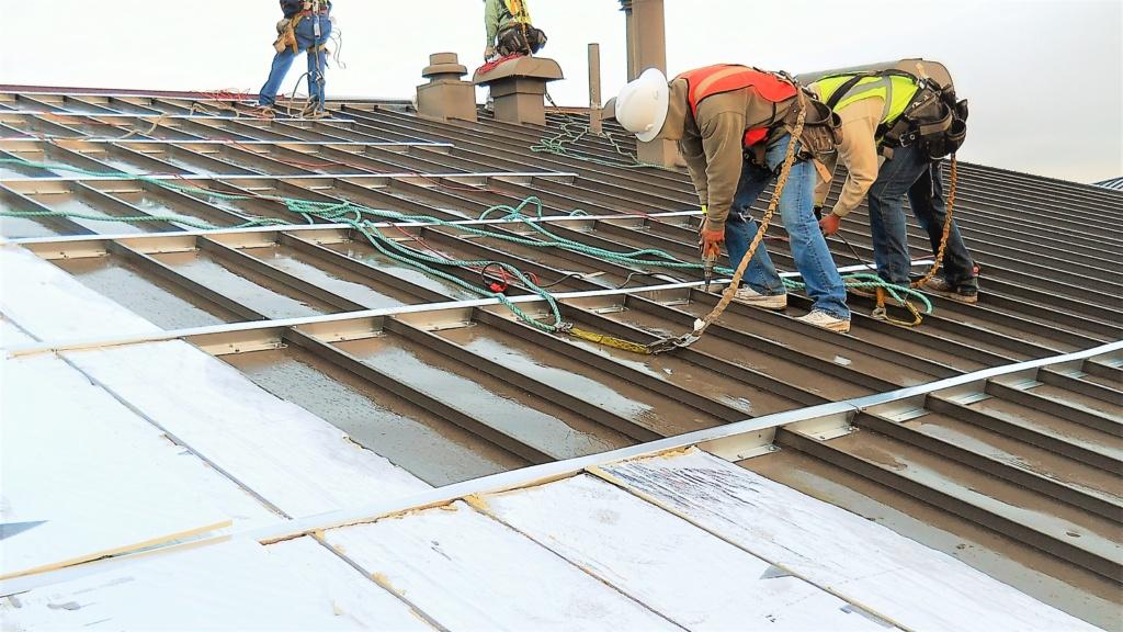roof hugger metal over metal retrofit