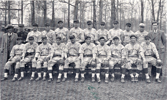 Red Smith and the 1931 Seton Hall Baseball team