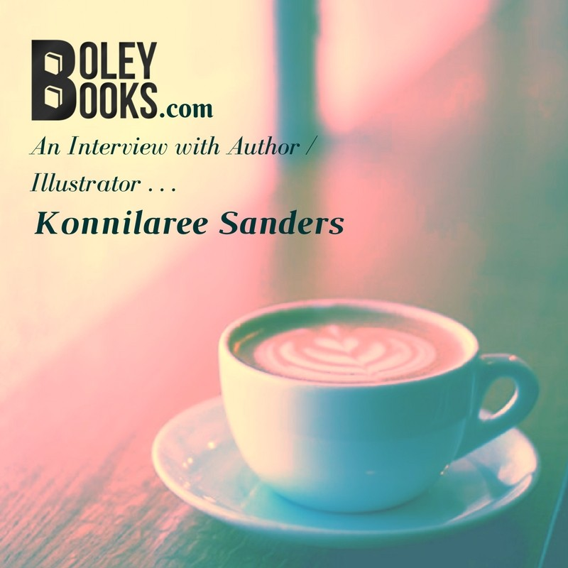 Interview With An Author—Konnilaree Sanders