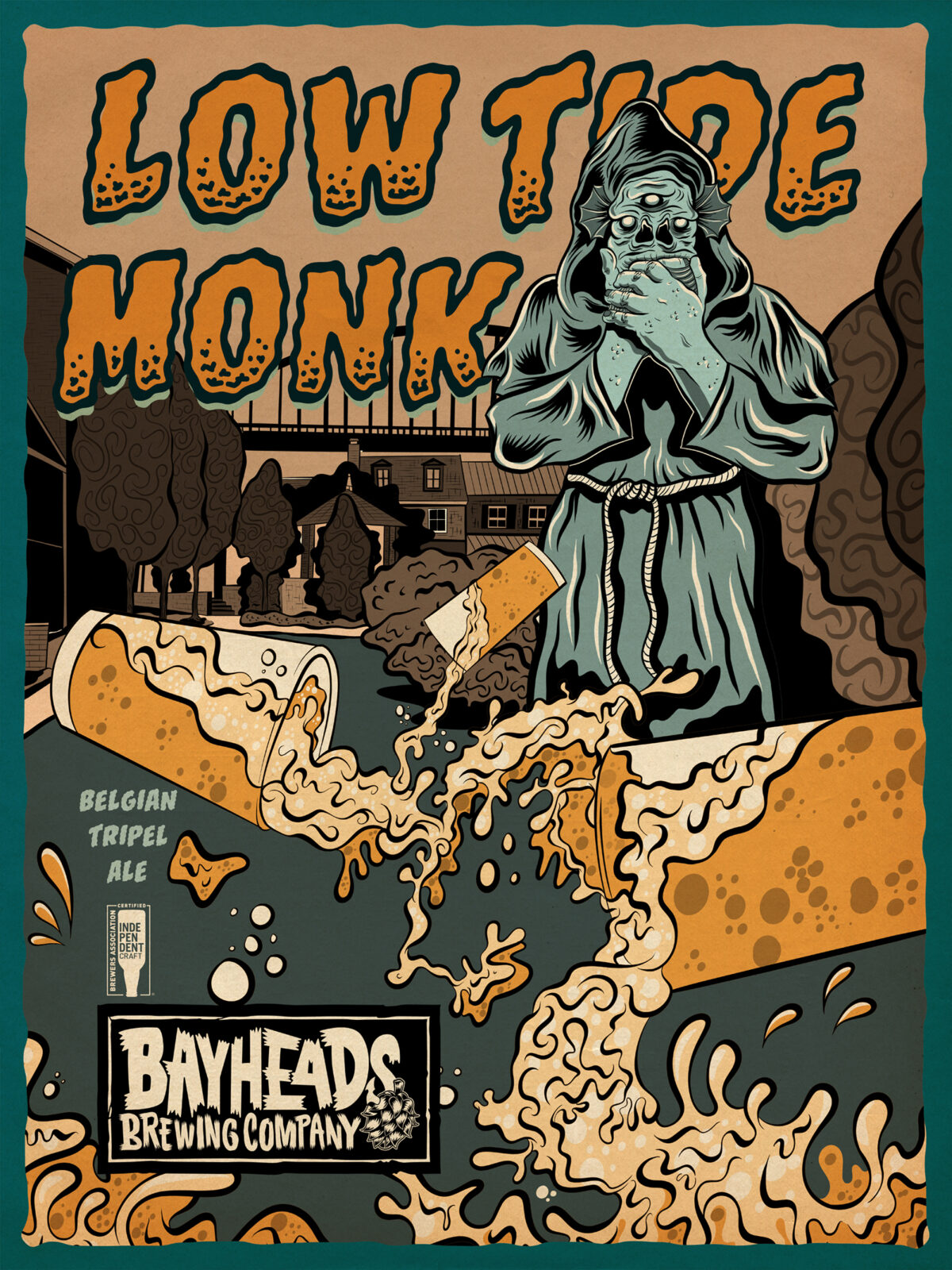 Low Tide Monk – Bayheads Brewing Company