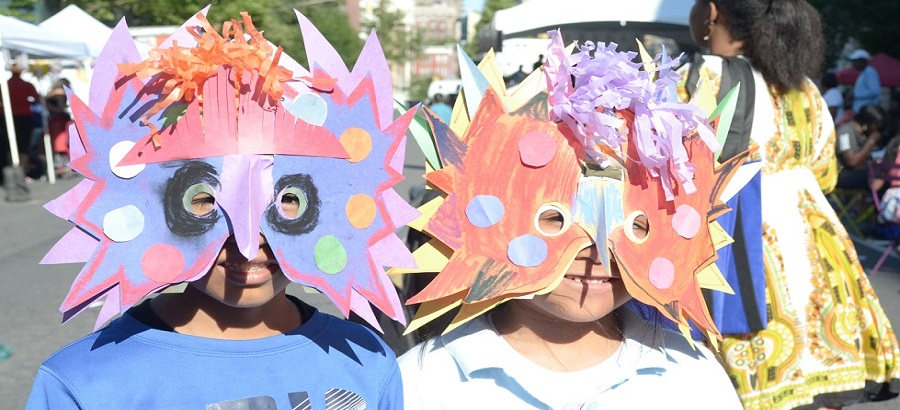 Children have fun at Bronx Music at Melrose event by WHEDco