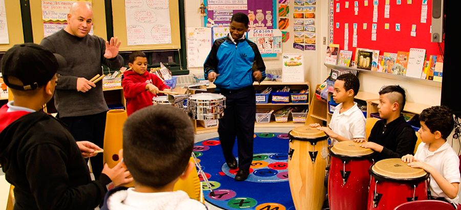 WHEDco's After School Programs provide arts engagement activities.