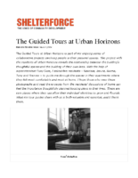 03-01-2004 Shelterforce_The Guided Tours at Urban Horizons
