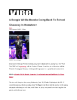 09-19-2017 Vibe_A Boogie Wit Da Hoodie Doing Back To School Giveaway In Hometown