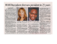 10-03-2017 Bronx Times_WHEDco selects first new president in 25 years.docx