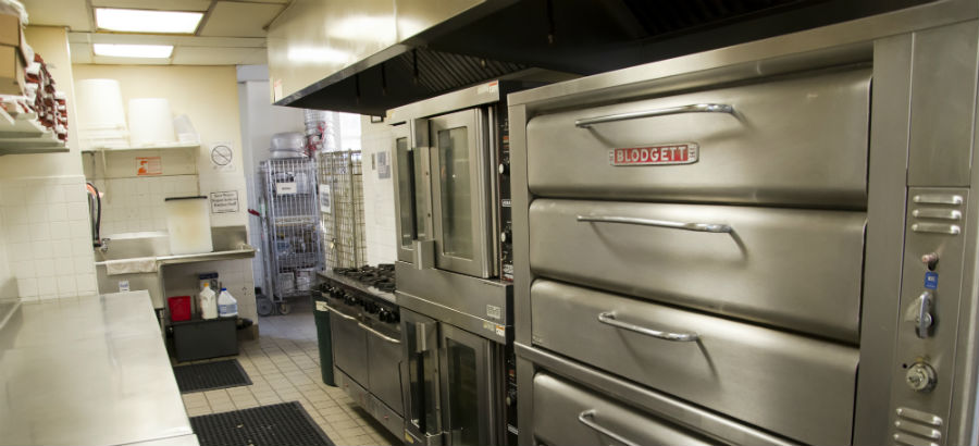 Kitchen equipment at WHEDco's Bronx CookSpace