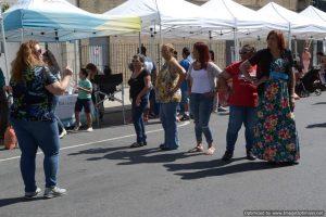 Street dancing at Bronx Summer Fest 2016.