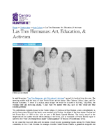 12-19-2017 CentroVoices_Las Tres Hermanas_Art Education and Activism