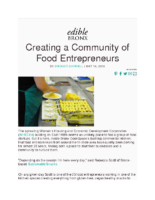05-19-2018 Edible Bronx_Creating a Community of Food Entrepreneurs