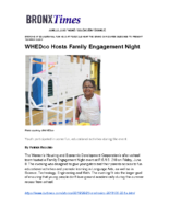 06-23-2018 BronxTimes_Family Engagement Night