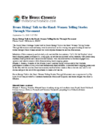 09-21-2018 Bronx Chronicle_Bronx Rising Talk to the Hand