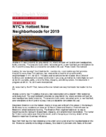 01-09-2019 Jewish Voice_Hottest Neighborhoods in NYC