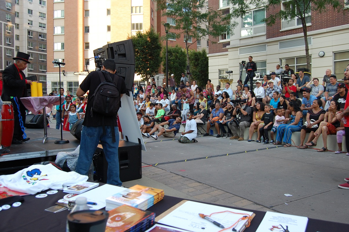bronx music at melrose event attendees