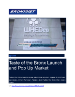 05-01-2019 BronxNet_Taste of the Bronx and Bronx CookSpace