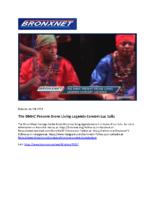 04-04-2019 BronxNet_The BMHC Present Bronx Living Legends Concert Luz Soliz