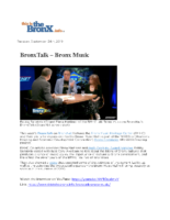 09-24-2019 BronxNet_Bronx Music Heritage Center Interview
