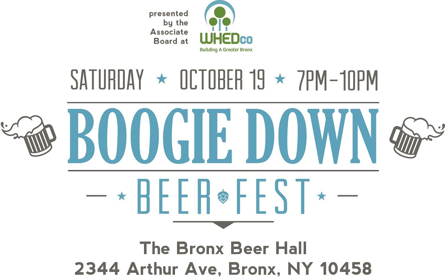 boogie down beer fest 2019 logo