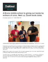 07-17-2020_ChalkbeatNewYork_A Bronx_middle_school_is_giving_out_books_by_authors_of_color_Next_up_Zoom_book_clubs