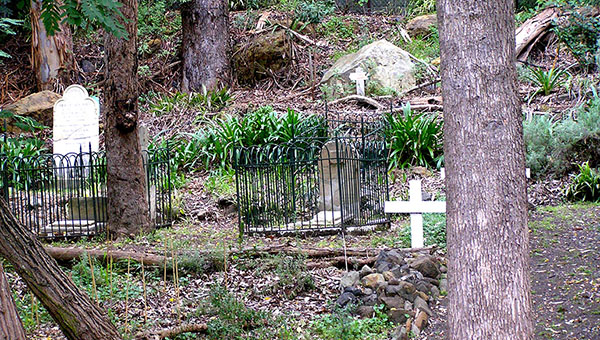 Old Mans Valley State heritage listed Higgins family cemetery