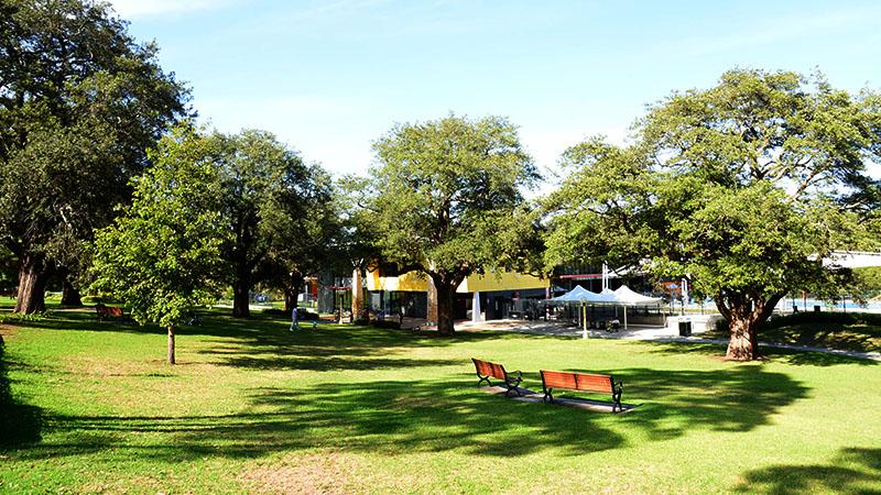 Hornsby Park gardens