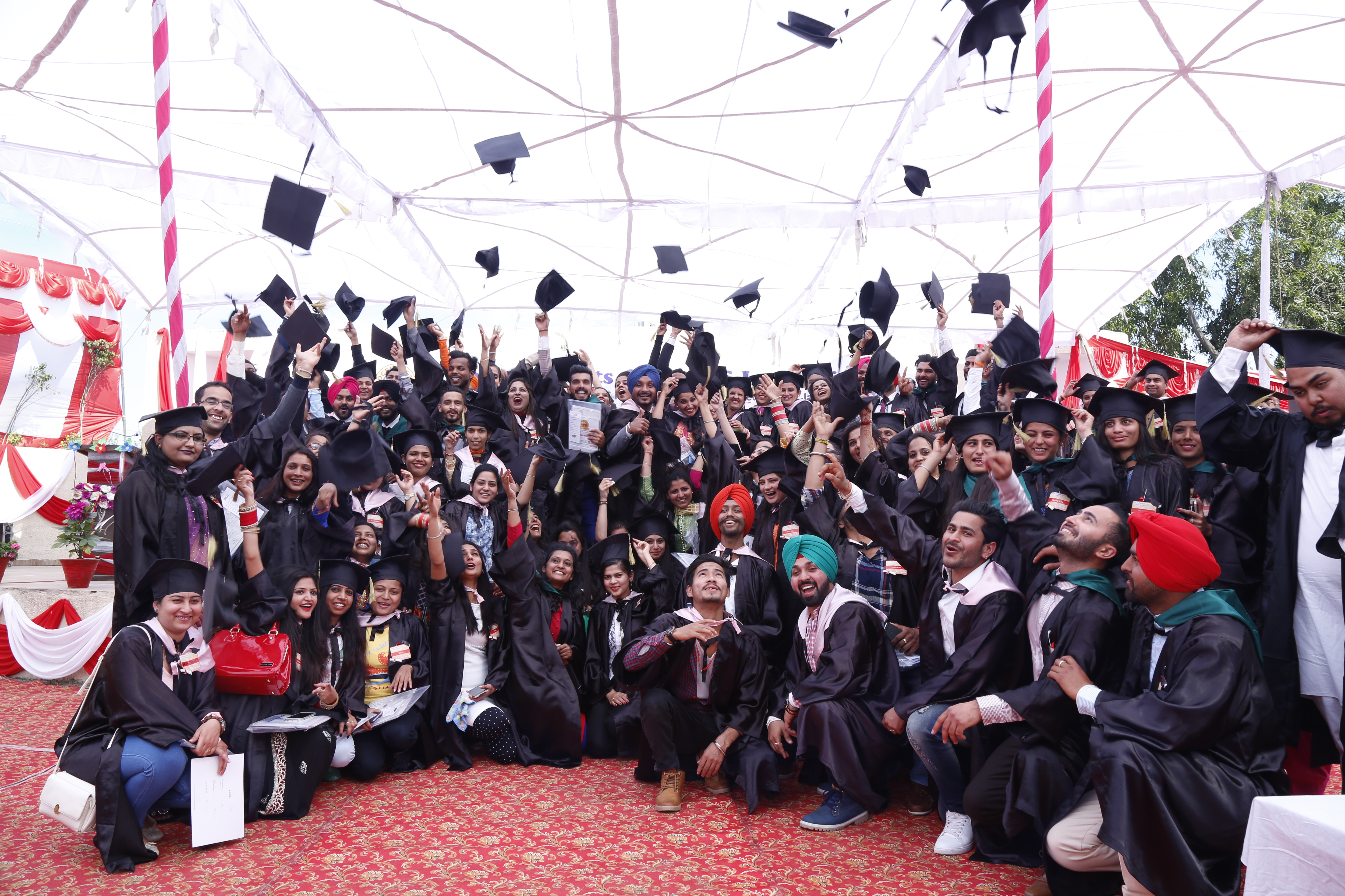 CONVOCATION AT INNOCENT HEARTS GROUP OF INSTITUTIONS