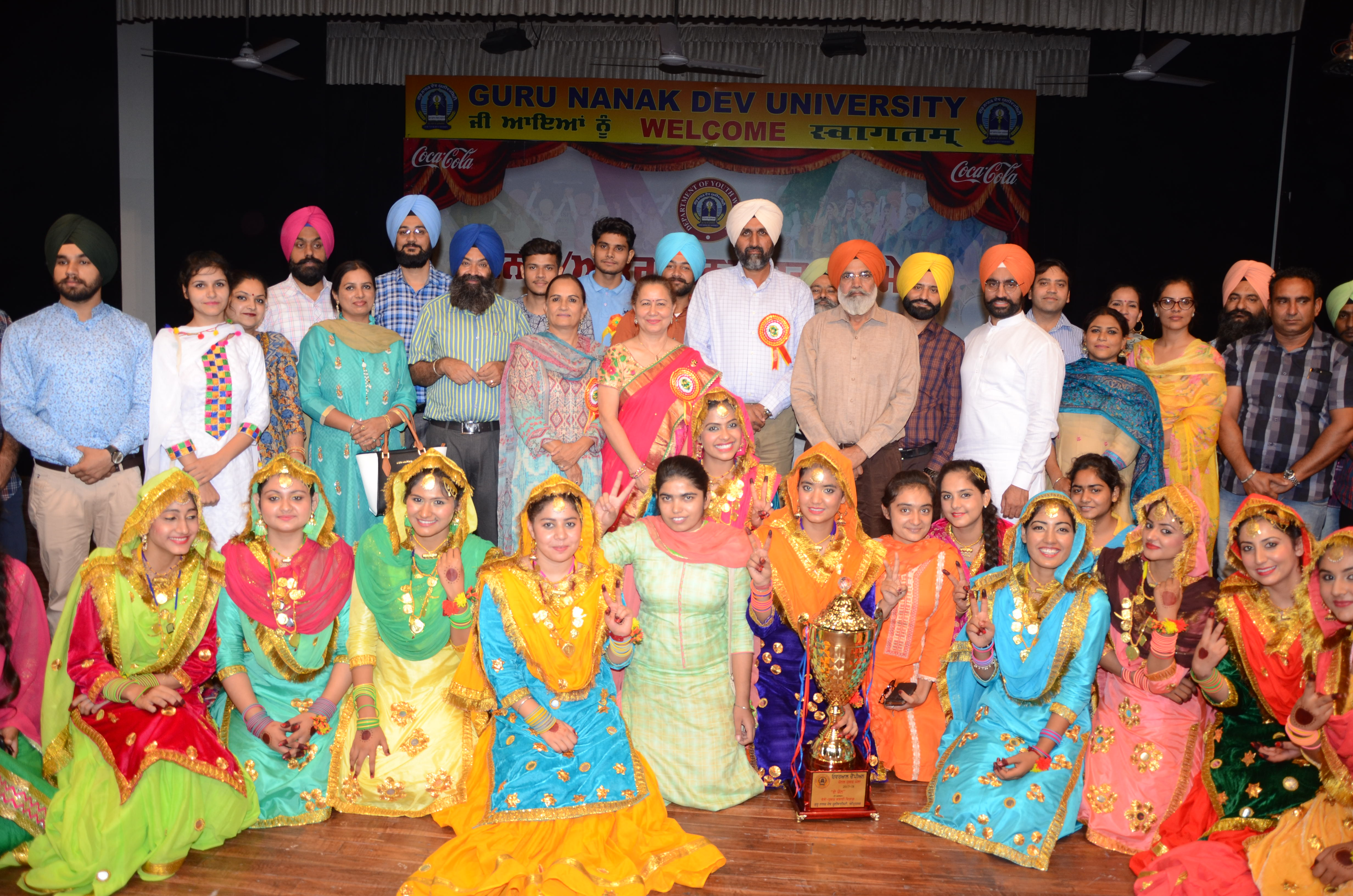 'A' Zone Zonal Youth Festival concluded