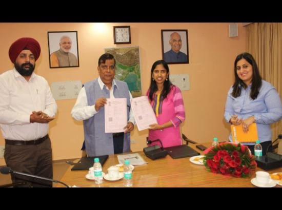 Punjab Skill Development mission signs  MoU With Indo- Swiss Training Centre