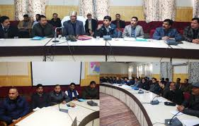 Expenditure Observer holds a meeting in Kupwara