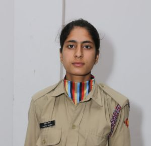Punita Sharma of PCM S.D. College for Women represent Punjab, Haryana, Himachal and Chandigarh