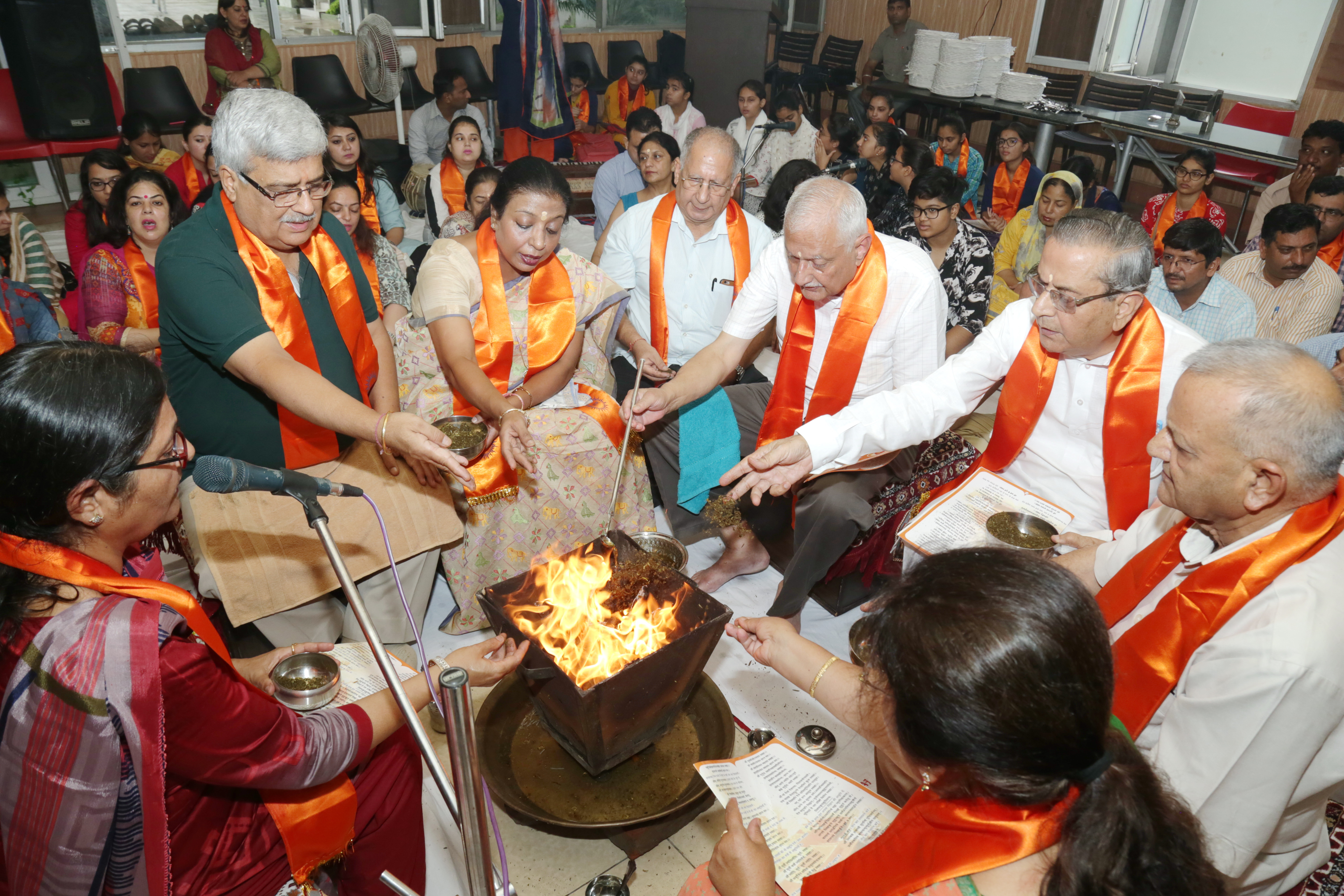 Havan performed at HMV on the commencement of academic session
