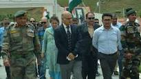 Advisor Sharma visits Kargil, reviews developmental scenario