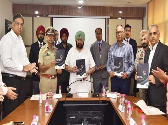 Amarinder inaugurates country's 4th DITAC unit to strengthen Anti CYber Crime capabilities