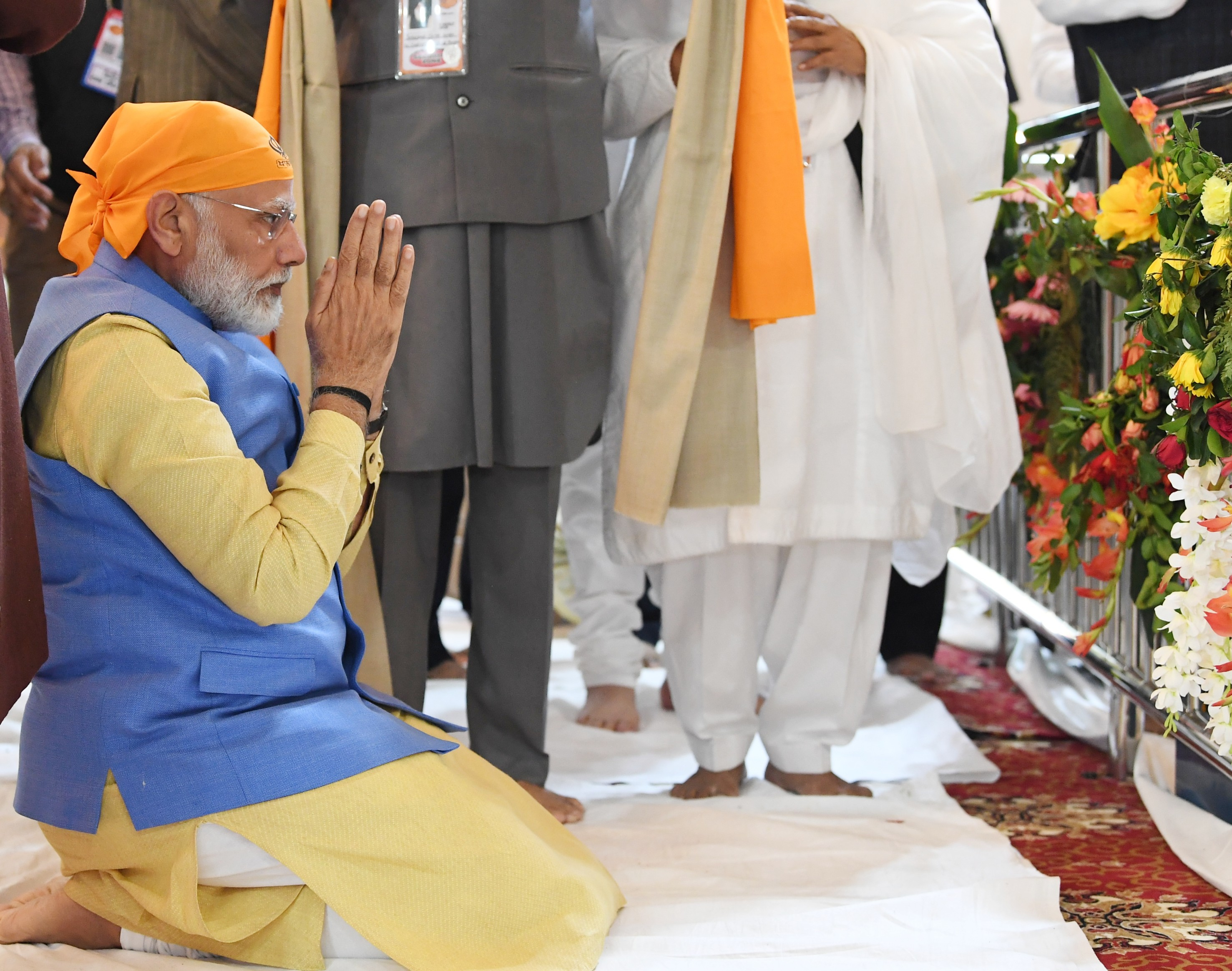 Prime Minister pays obeisance at Gurudwara Ber Sahib