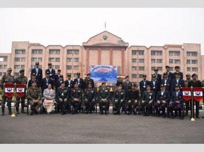 Vajra Corps Artillery Brigade arranged under theme 'Kadam Badayen Pragati Ki Aur'