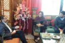 डिप्टी कमिश्नर ने डॉ. मधु पराशर से शोक संवेदना व्यक्त की