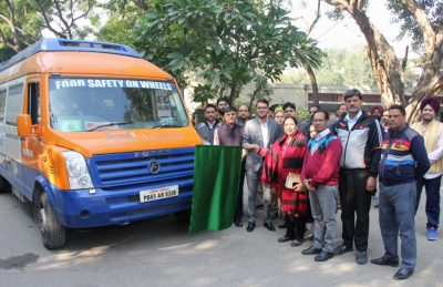 'FOOD SAFETY ON WHEELS' MOBILE VAN FLAGGED OFF