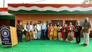 NRI contributes in Self Smart School Campaign, donates various items