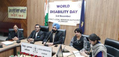 DLSA disability awareness meeting with municipal councilors