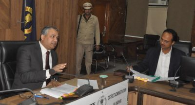 Take exemplary action against non performing Revenue officers: Divisional Commissioner asks DCs