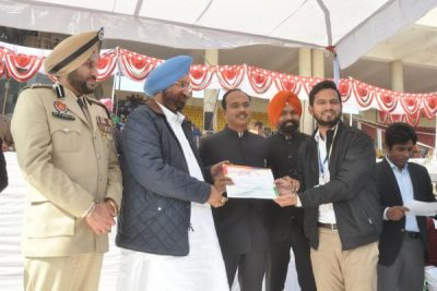 136 eminent personalities felicitated by the cooperation and jails minister