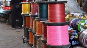 Police books two wendors selling  banned Chinese thread