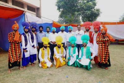 Lyallpur Khalsa College Bhangra team shines like a Star Samra