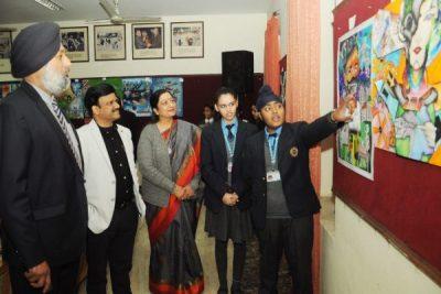 KMV Organizes World Vision 2050 through Science- A DBT Sponsored Exhibition