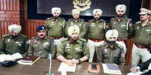 Police bust looters' gang in Ferozepur, arrest 4 accused