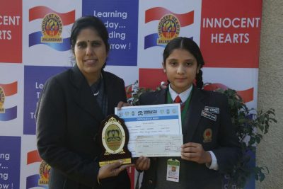 I H School, brings laurels in Poster Making & SciencePlay Competition