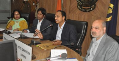 Distt Admn gears up Houselisting and Housing Census updation of NPR