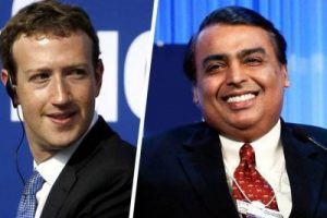 Facebook buys 9.9% Shares of Reliance Jio